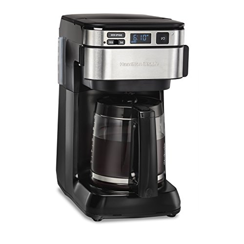Hamilton Beach Programmable Coffee Maker, 12 Cups, Front Access...