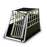 Trasportino Box Cofano Auto Cuccia per Cani Gatti Animali in Alluminio Taglia Grande Media