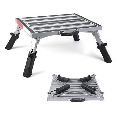 Safety RV Steps 19' x 12' RV Folding Step, Step Stool, 600lbs,...
