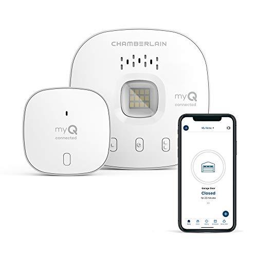 myQ Chamberlain Smart Garage Door Opener - Wireless & Wifi garage hub...