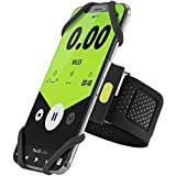 Bone Collection Running Armband Phone Holder, Lightweight Sports Cell Phone Arm Band for iPhone 11 Pro Max XS XR X 8 7 6 Plus Samsung Galaxy S10 S9 S8 Smartphone, Run Tie Series - Black (Large)