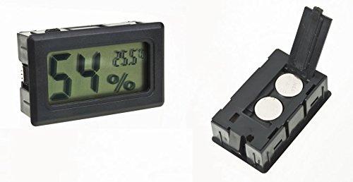 DC thermometre hygrometre–Digital LCD–Cantinetta Vino o Sigaro–umidità