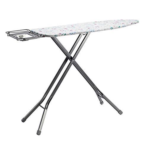 Amazon Basics Planche à repasser avec repose-fer en forme de H, Grand modèle, 122 x 43 cm - Gris