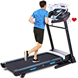 ANCHEER Treadmill, 3.25HP APP Control Folding Treadmills for Home with Automatic Incline,...
