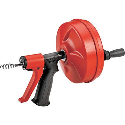 RIDGID 57043 Power Spin con AUTOFEED, cavo sturatubi Maxcore e trivella sturatubi a bulbo per rimuovere i blocchi dello scarico