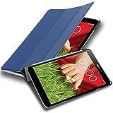 Cadorabo Coque Tablette pour LG G Pad 8.3 V500 en Bleu FONCÉ Jersey – Housse...