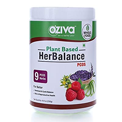 HerBalance for PCOS contains 9 Standardized Herbal Extracts like Vitex (Chasteberry), Rhodiola Rosea, Red Raspberry and more which support Hormonal Balance. HerBalance PCOS provides 500 mg Vitamin B8 (Inositol) and 400 mcg Chromium to improve Fertili...