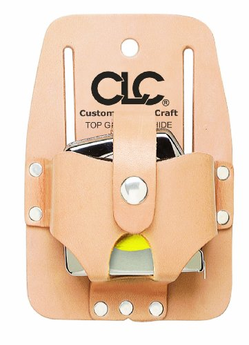 Custom Leathercraft 464 Heavy Duty Measuring Tape Holder, 16-30 in.