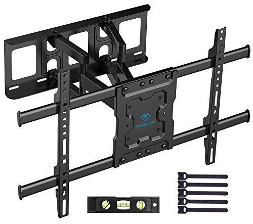 Staffa per TV con movimento girevole ed estendibile -Supporto per montaggio a parete per TV da...