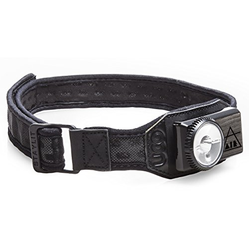 UCO Air 150 Lumen Lightweight Rechargeable LED Headlamp with Variable Brightness Dial