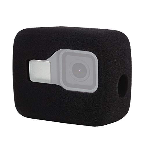 PULUZ Windslayer custodia telaio per GoPro Hero 8 nero, custodia in schiuma per parabrezza per ridurre il rumore del vento per una registrazione audio ottimale