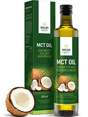 MCT-Öl aus 100% Kokosöl Extrakt geschmacksneutral - 500ml inkl. Ausgießer