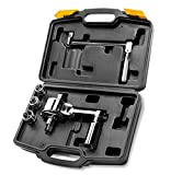 XtremepowerUS Torque Wrench Multiplier Lug Nut Labor Saving Wrench Remover Set (1/2' DR) w/ Carrying Case