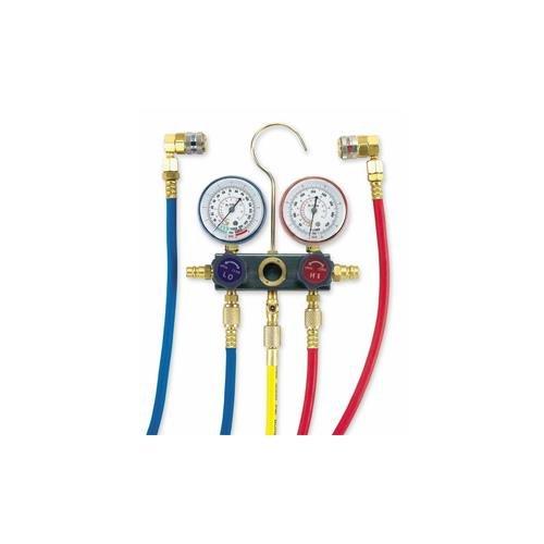 FJC 6761 R134a Aluminum Manifold Gauge Set
