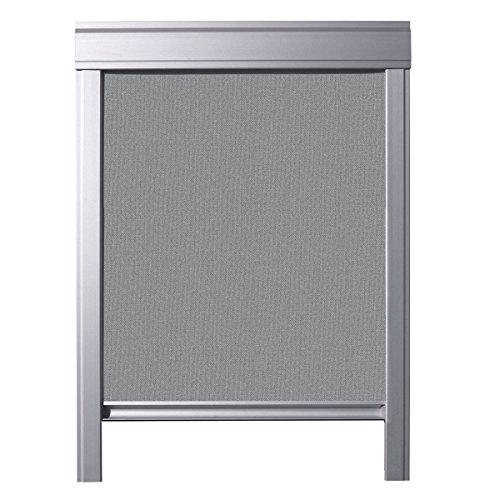 ITZALA Einfaches Verdunkelungsrollo für VELUX Dachfenster, S06, 606, S36, 636, Grau