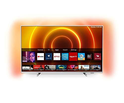 Philips 65PUS7855/12 TV 165,1 cm (65') 4K Ultra HD Smart TV WiFi Argent