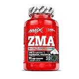 AMIX - Complemento Alimenticio - ZMA - 90 Cápsulas - Combinación de Zinc y...