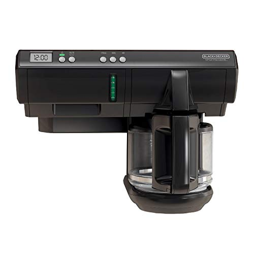 BLACK+DECKER SCM1000BD SpaceMaker Under The Cabinet 12-Cup...