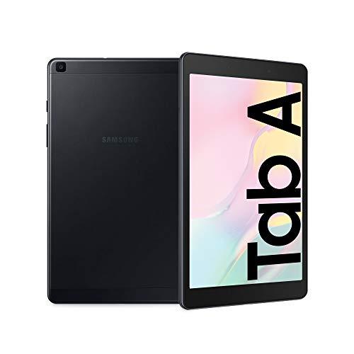 Samsung Galaxy Tab A 8.0, Tablet, Display 8.0' TFT LCD, 32 GB Espandibili, RAM 2 GB, Batteria 5100 mAh, WiFi, Android 9 Pie, Black [Versione Italiana]