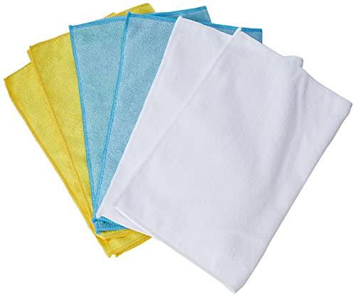 Amazon Basics Mikrofaser-Reinigungstücher, 6 Stück
