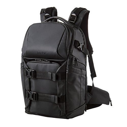 エレコム プロカメラバッグ バッグパック パソコン収納スペース付 GRAPH GEAR NEO 参考収容寸法:カメラ収納部:290×165×310mm ブラック DGB-P01BK