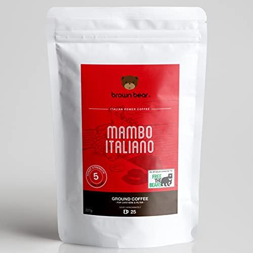 Café Molido Brown Bear Mambo Italiano, TE ENCANTARÁ