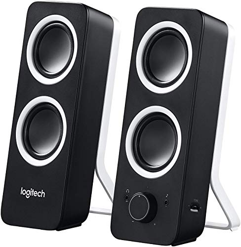 Logitech Z200 Altoparlanti Multimedia, Versione Italiana, senza Bluetooth, Nero
