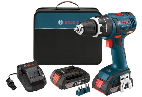 Bosch HDS182-02 18-volt Brushless 1/2-Inch Compact Tough Hammer...
