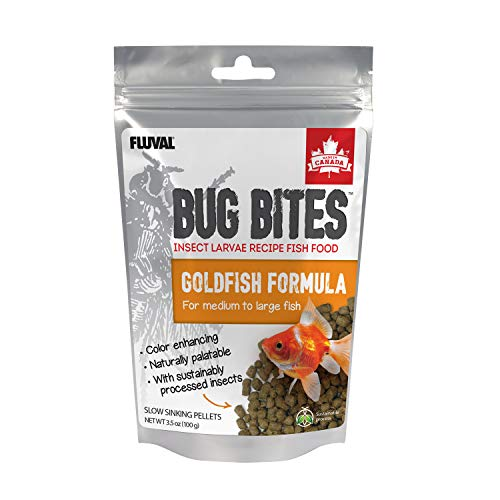 Fluval Bug Bites Goldfish Fish Food