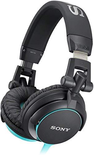 Sony MDR-V55 Cuffie Chiuso DJ, 105 dB, 40 , Nero/Blu