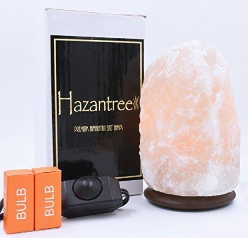 Hazantree  Sutlej Pearl White Himalayan Salt Lamp