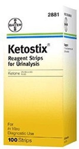 BAYER HEALTHCARE-DIABETES CARE Ketostix Strips 2881