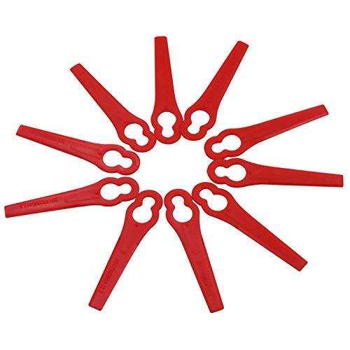 Haude 120 Pz per Florabest LIDL FRTA 20 A1 Lidl IAN 282232 Lame di Ricambio nel Plastica per...