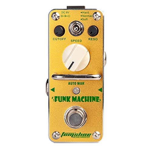 perfk AROMA AFK-3 Funk Machine Auto Wah Electric Guitar Effect Pedal True Bypass