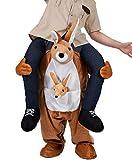 UBCM Ride On Me Carry On Kangaroo Costume Christmas Mascot Costume (Kangaroo)