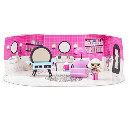 Image 1 - MGA- Meubles L.O.L Salon de beauté avec poupée Diva et 10+ Surprises Toy, 564102E7C, Multicolore