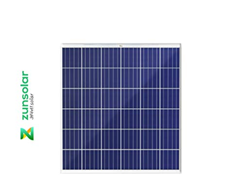 ZunSolar 50 Watt 12 Volt Polycrystalline Carat 24 ZR Series Solar Panel
