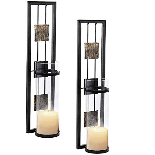 Shelving Solution Wall Sconce Candle Holder Metal Wall...