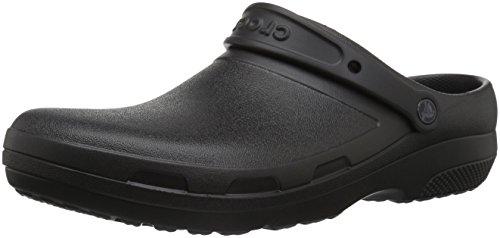 Crocs Specialist II Clog, Black, 7 US Women / 5 US Men