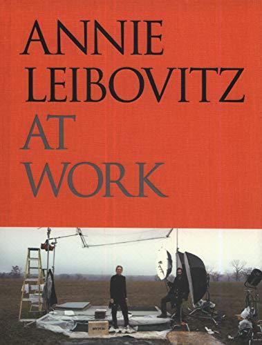 Annie Leibovitz en el trabajo