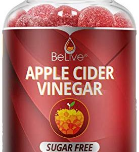 Apple Cider Vinegar Gummies - Sugar Free, Gluten Free, No Glucose Syrup, Gummy Alternative to Capsules & Drink (60 Ct) 15 - My Weight Loss Today
