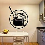 wZUN Pegatina de Vinilo ecológica de Cocina Linda Pegatina de habitación de bebé Mural 28X32cm