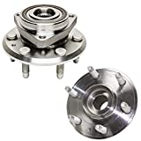 Detroit Axle - Front or Rear Wheel Hub & Bearing Assembly Replacement for Chevy Traverse Acadia Outlook Enclave (ABS Models) - 2pc Set