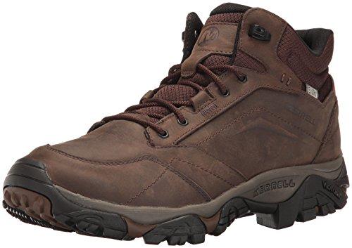 Merrell Men's Moab Adventure Mid Waterproof Hiking Boot, Dark Earth, 10 M US