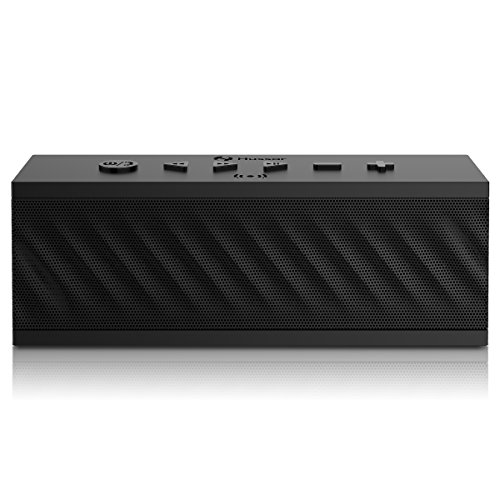 Hussar MBOX Bluetooth V4.2 Speakers, 16W Ultra Portable Wireless Speaker, Premium Sound w/Enhanced Bass and Selectable Sound Effects,IPX5 Waterproof,Built-in Mic w/Siri,12-Hour Playtime