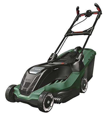 Bosch 06008B9300 AdvancedRotak 750 Rasaerba Elettrico, Cesto Raccoglierba 50L, 1800 W, 0 V, Verde, Taglio Larghezza 45 cm e Altezza 20-80 mm