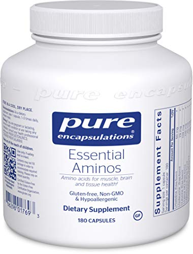 Pure Encapsulations Essential Aminos | Amino Acid Supplement for The Brain and Muscle Recovery* | 180 Capsules 1