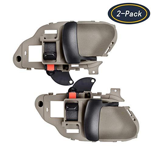 FAERSI Inside Interior Door Handle Left Driver & Right Passenger Side Replacement fors 1995 1996 1997 1998 1999 2000 Silverado Tahoe K1500 K2500 K3500 Suburban GMC Yukon Pickup Truck 15708043 15708044
