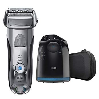 Braun Series 7 790cc Electric Foil Shaver with Clean and Charge station