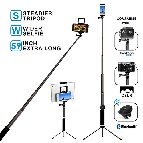 41MrJbPU++L - The 7 Best Selfie Sticks That Will Keep Your Camera Steady for That Perfect Shot